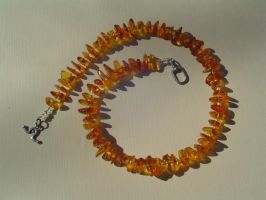 Amber Necklace by tyshalae