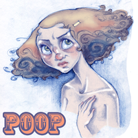 Self Pooptrait by PoisonApple