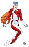 Alpha Flight's Vindicator by Sirspamdalot