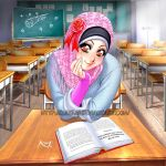 Beautiful in Hijab by Nayzak