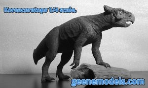Koreaceratops 1/4 scale by GalileoN