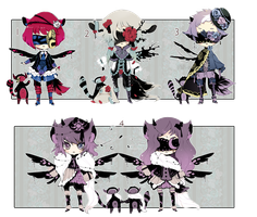[CLOSED] ADOPT AUCTION 87 - Blind Lace RARITY by Piffi-adoptables