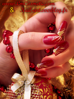 christmas red and gold 2 by Tartofraises