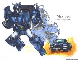 Max Blue by Jochimus