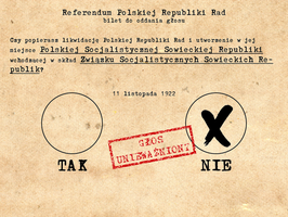 Polish referendum, 1922 by Sevgart