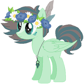 Feather Plume- New OC by Apparatarti