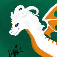 The White Dragon by guilleum2