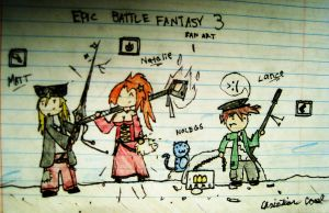 Epic Battle Fantasy Fan Art by Liuv