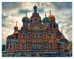 Church of the Savior on Blood by demeters