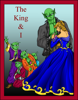 The King And I - Movie Poster by Kieri