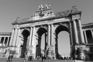 Brussels - Cinquantenaire by PhilsPictures