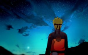Naruto Looking at the stars 2012 by DrLinuX