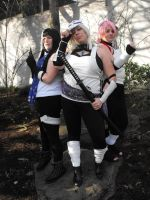 .:Ladies of the Hidden Leaf:. by misscharliehorse