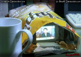 Death Note Potato Chips by Opheroth