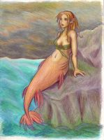 Another mermaid by selie