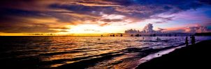 Sunset Panorama 1 by alvse