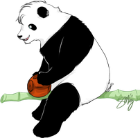 HogAc: Quidditch Panda by PapaSamOLD