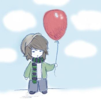 Boy and the Balloon by tiny-twit