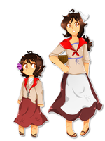 [Colonial! Costa Rica] Outfits by b-rillante