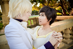 Tamaki and Haruhi Cosplay | Ouran Finale by CosplayInABox