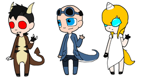 Mythical Mysteries Adopts (CLOSED) by DetritusDroid