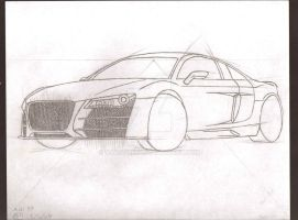 Audi R8 by TOASTme69