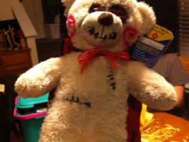 Jigsaw the Bear by Cidvalentine