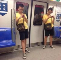 Another Glitch In The Matrix by TheFunnyAmerican