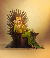Cersei Queen of Crazy by neomonki