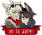2014! by xCoyote