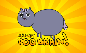 Poo Brain Horse by chloevictoria