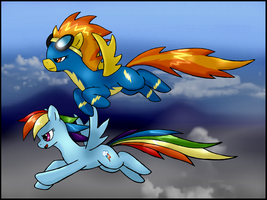 Sky Fighters by unitoone