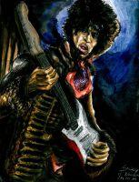 Jimi Hendrix by Sass-Haunted