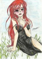 Sweet erza by MidnightlityDreams