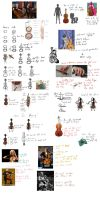 Guide on cellos (and hoofs) by Delnum