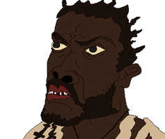 Mr. Eko from LOST by holdypause
