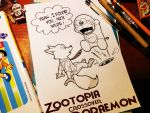 Zootopia come to Japan 2 by doraemonbasil