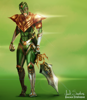 Green Ranger by IsaiahStephens