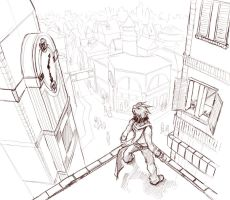 Rooftop by minties