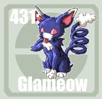 431 Glameow by Pokedex