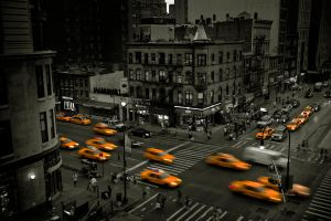Taxi New York by santasdwarf