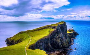 Neist Point Lighthouse, isle of Skye, Scotland by Raiden316