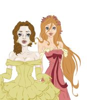 Belle and Gisele by DollStudios