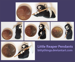 Reaper Pendants by Bittythings
