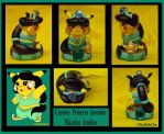 Princess Jasmine Custom Pikachu Amiibo by pikabellechu
