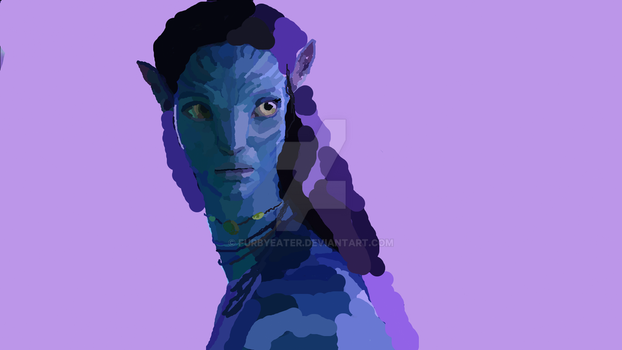 Neytiri, Princess of the Omitacaya by furbyeater