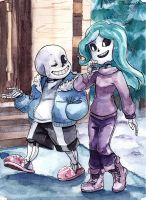 Commission-Sans the guide by paurachan