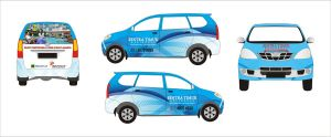 Redesign-Car Branding Sentra Timur Residence by jumidsgn