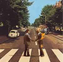 Wish You Were in Abbey Road by deadlyroutines