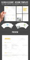 Resume Template by DOMDESIGN